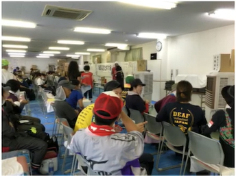 NEWS小山慶一郎、ボランティア現場でろう者と手話で交流!「嬉しかった」「疲れが吹き飛んだ」