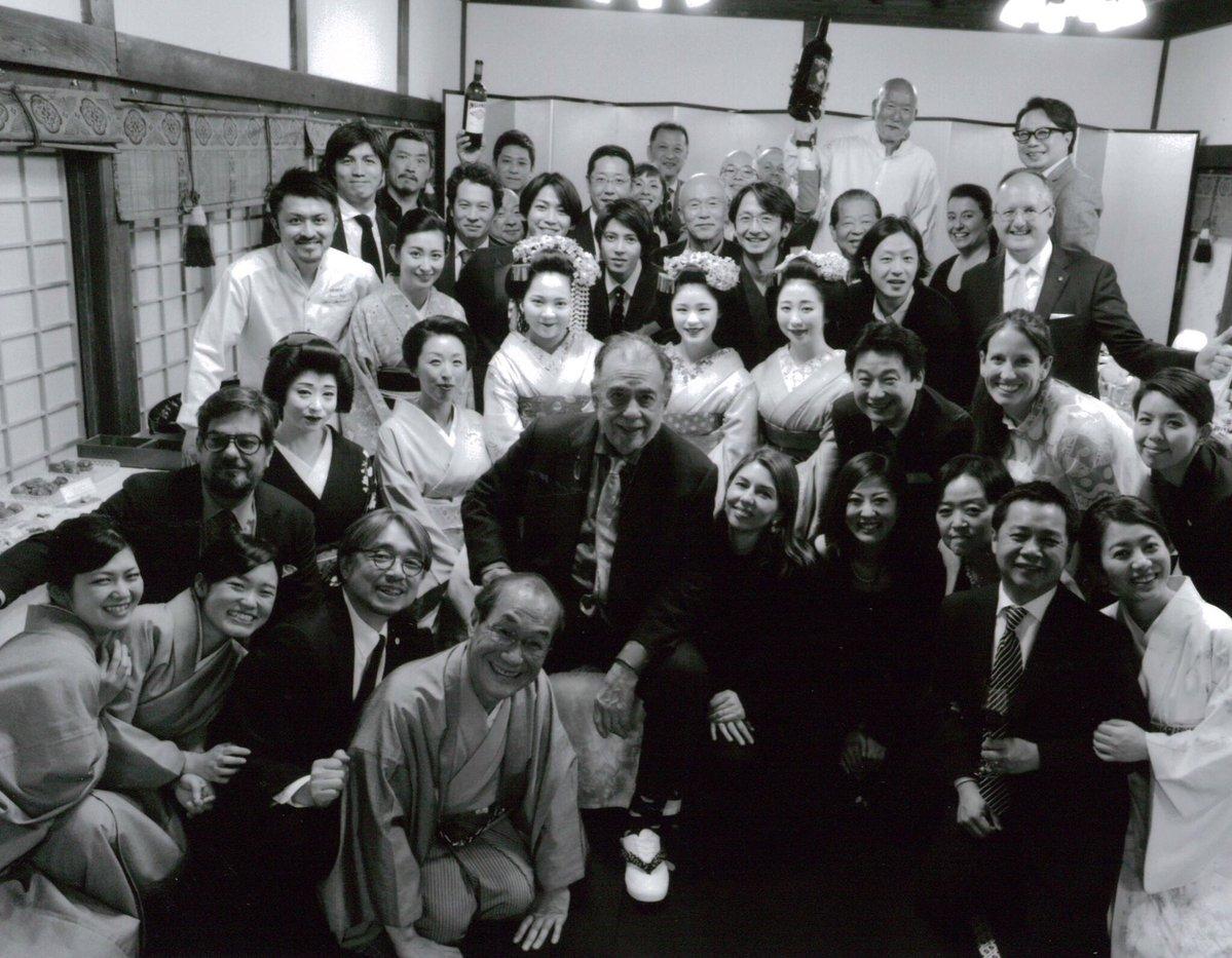 【亀と山P】世界的映画監督フランシス・フォード・コッポラの晩餐会に出席していたことが判明!