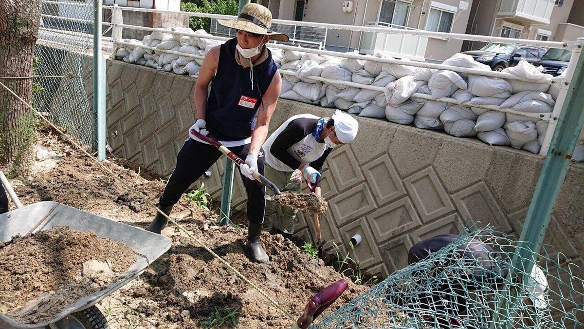 NEWS小山慶一郎が広島で災害復旧のボランティア!有言実行、即行動の姿勢に賞賛の嵐