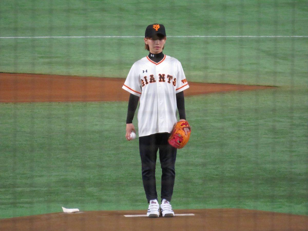 King & Prince岩橋玄樹が東京ドームで始球式。ナイスボールに野球ファン驚愕!
