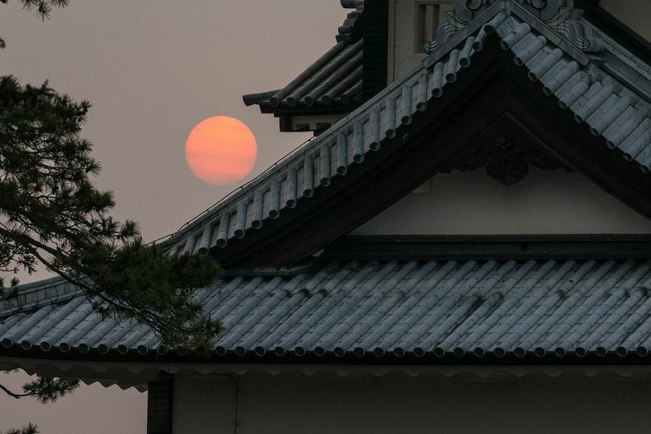 2018.04.02 金沢城 朝景 1