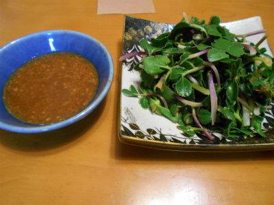 4.4ハマボウフウの酢味噌かけ