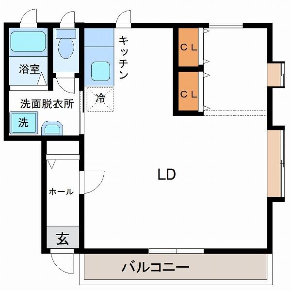 フレジア神宮西1番館(1号室)