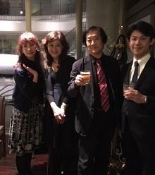 安藤コンサート打ち上げ(先生方)