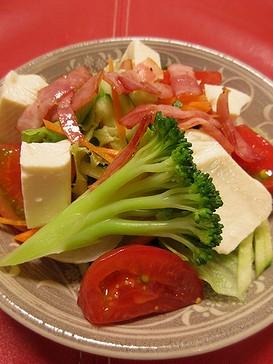 20180906 豆腐サラダ