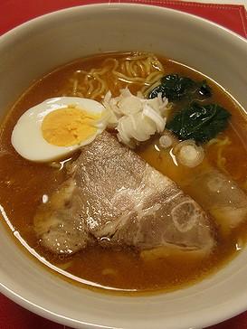 20180924 喜多方味噌ラーメン (1)