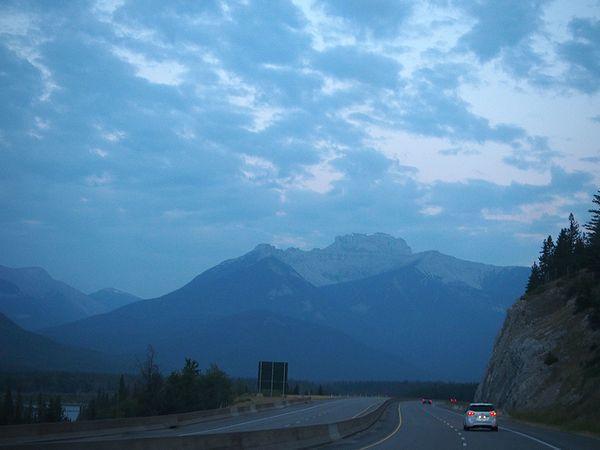 「トランス・カナダ・ハイウェイ」で北へ