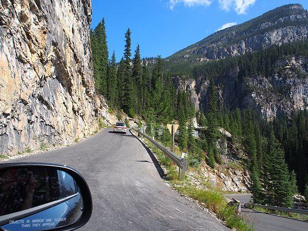 タカカウ滝への道