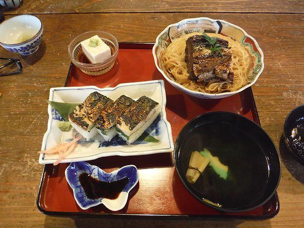 鯖街道 焼鯖寿司付き