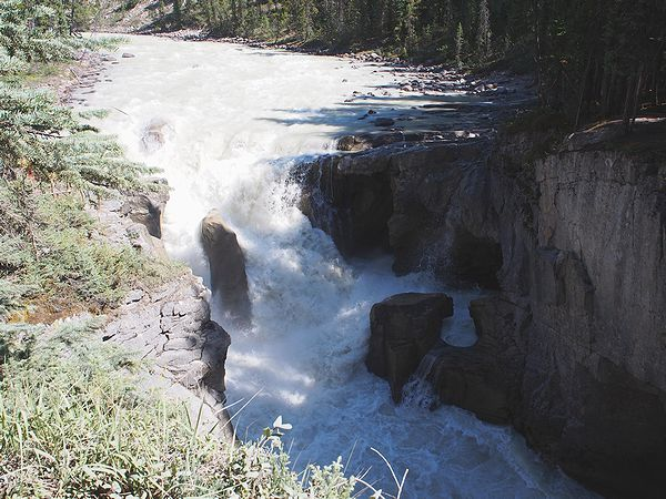 サンワプタ滝