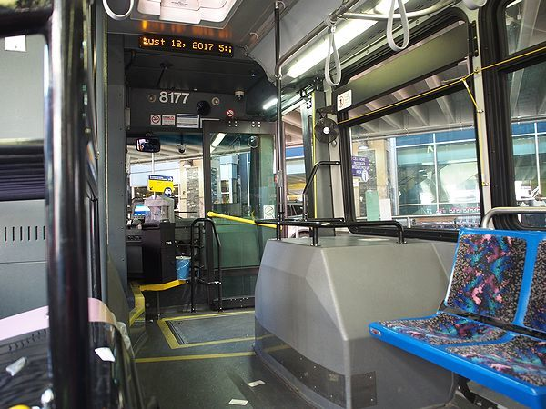 カルガリーの路線バス