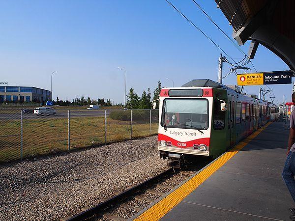 MCNIGHT - WESTWINDS駅にてCトレインに乗り換える