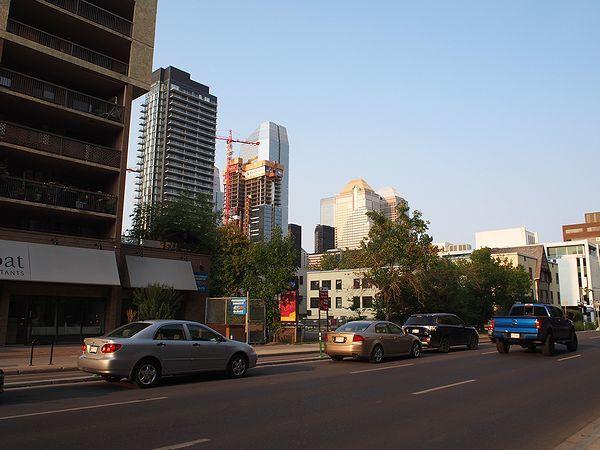 カルガリー市街地