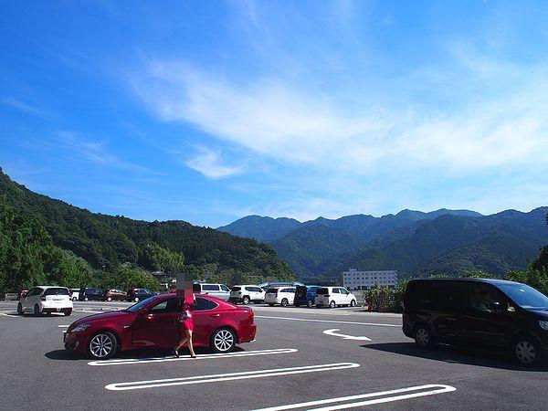 鬼ヶ城の駐車場