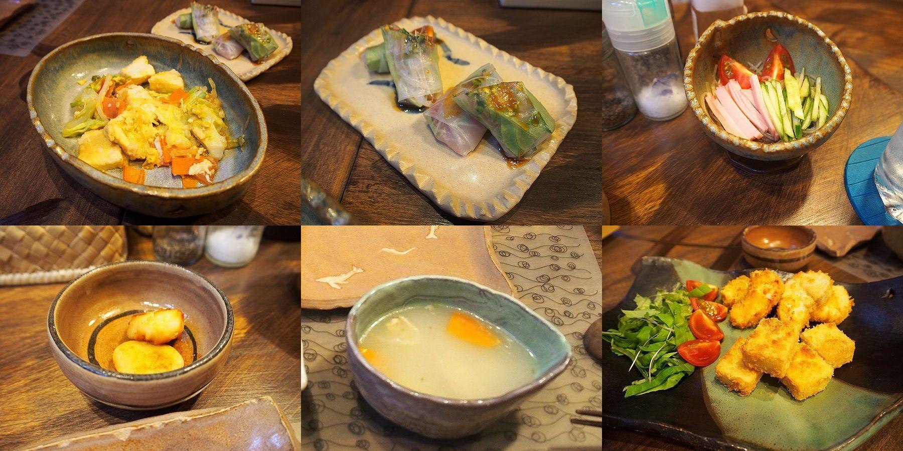 「海渡」の夕食