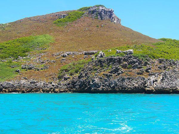 南島を出航