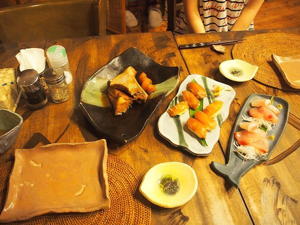 海渡の夕食(2日目)