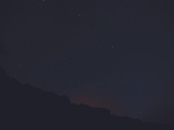 小港海岸の星空