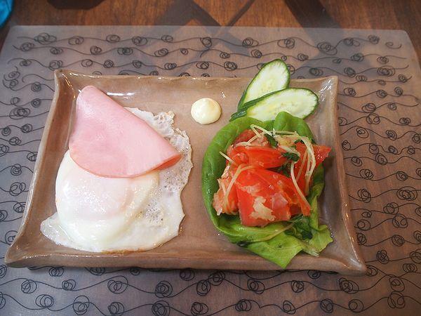 海渡の朝食