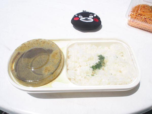 おがさわら丸の昼食