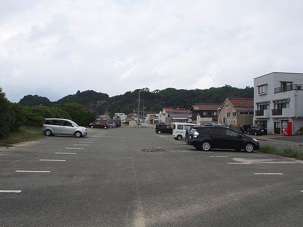 石見畳ヶ浦の無料駐車場