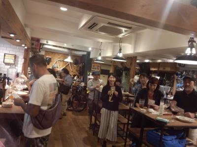 Cruise Bicycle+Cafe 1周年記念パーティ