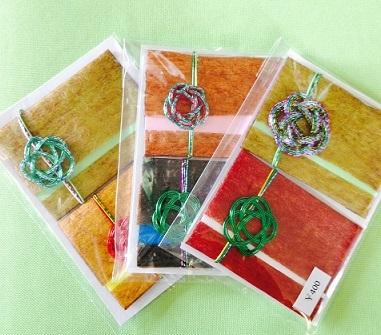 漆こし紙メッセージカード-1