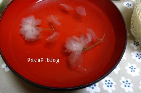 桜のお吸い物