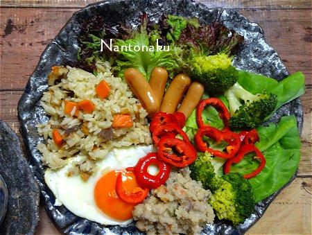 NANTONAKU 5-25 陶芸家の食器 ワンプレートランチ 3