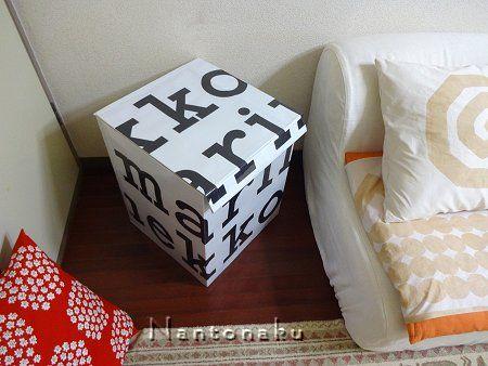 NANTONAKU marimekko ペーパーバッグ でmarimekko BOX 4