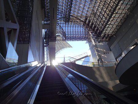 京都駅ビル 空中径路 2