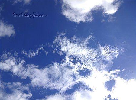 台風の後の空 2