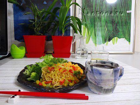 NANTONAKU 8-24 マンゴードレッシング冷しサラダ麺  1