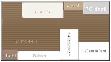 NANTONAKU もともとの床
