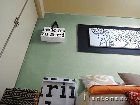 NANTONAKU 壁の色 画像加工でイメージを見る