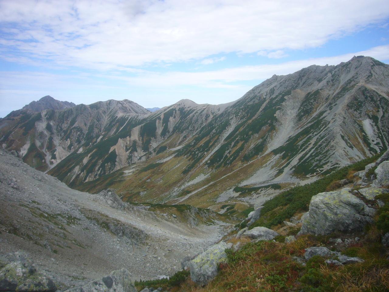 浄土山から剣と立山 H30.9.23