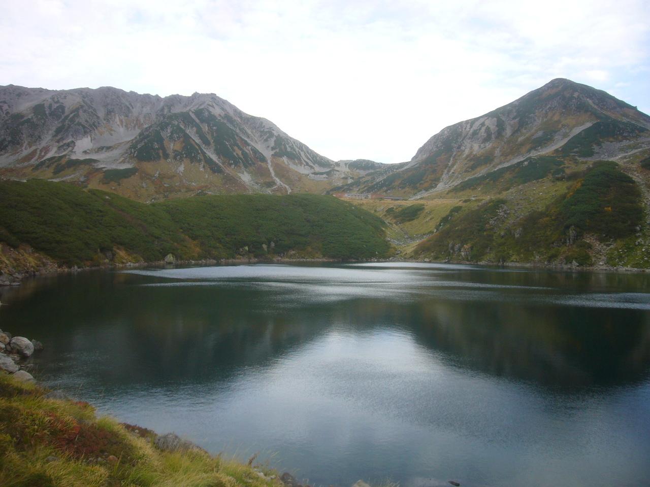 みくりが池から立山(左)と浄土山(右) H30.9.23