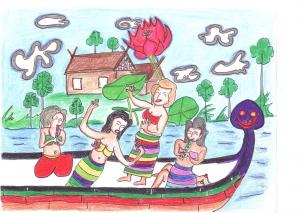 ウエルカム・トゥザ・パラダイスボート。