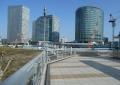 歩道橋から見る新高島①