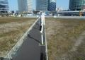 歩道橋から見る新高島②