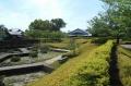 城跡ゾーン(左は菖蒲田)