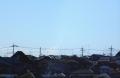 テラスからは富士山が見える