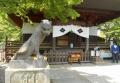 毘沙門堂前の狛寅