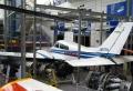 航空機の実機展示