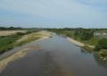 八瀬大橋から見る入間川