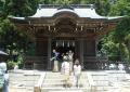 御霊神社・拝殿