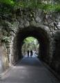 石造りのトンネル