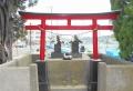 鳥居(渡船場の近く)