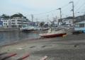 うらりの対岸から見る三崎港の奥