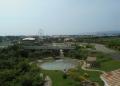 展望塔から見る公園